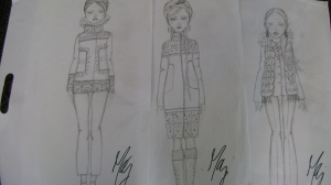 AMG-Fashion Sketches