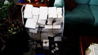 AMG DOLL-Plaster mold making (25)